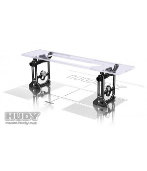 HUDY  SET UP UNIVERSALE 1/10 1/12 PAN CAR ALU