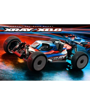 Xray XB8 - 2021 - 1:8 Racing Nitro Buggy KIT