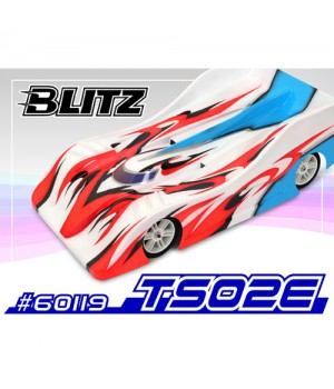 Blitz carrozzeria TS02E 200mm 0.8mm