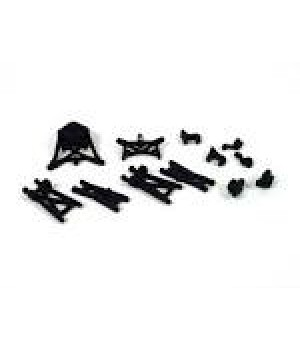 Susp Arms, Spindles, HubShock Towers:Micro-T/B/DT