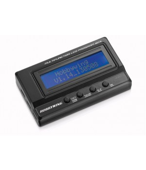 Hobbywing Multifunction LCD Program Card USB x regolatori EZRUN e XERUN 30502000