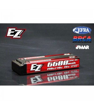 EZ power BATTERIE 6600 MAH LCG 7,6V 2S 140/70C GRAPHENE