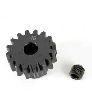 K-Factory pignone 16T M1 5mm in acciaio per elettrico