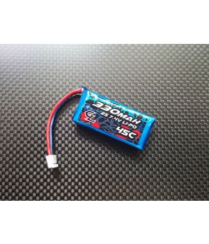 GL RACING 2S 330MAH 45C LIPO BATTERY PACK [FOR GLA, GLR, GL-RIDER]