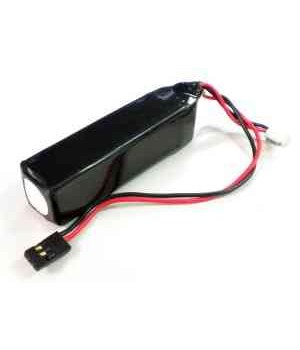 Km Racing 1300MAH LiFe Side Receiver Battery  Compatibile con MUGEN MRX6 1/8