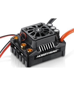 Hobbywing EZRUN MAX8 V3 150A. Regolatore brushless sensorless waterproof connettore TRAXXAS + program card - 1/8 On-Road Monster Truggy