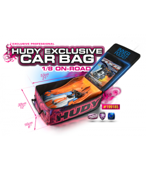 HUDY CAR BAG - 1/8 ON-ROAD