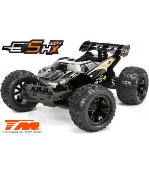 E5HX 1/10 4x4 Monster Truck Brushless RTR 2/3S 2.4ghz-Savox WP BLU
