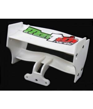 MON-TECH alettone F1 Posteriore Nero - Wing F1 Rear White