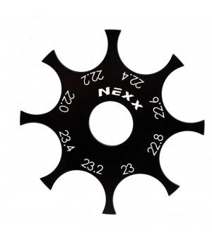 NX-255 NexxRacing Tire Gauge 22.0mm-23.4mm