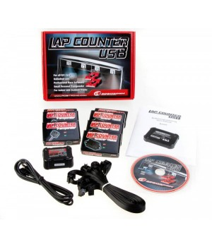 Robitronic LapCountSystem USB with 3 Transponders