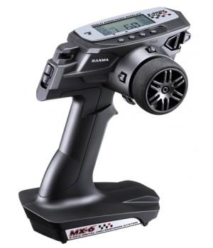 SANWA MX-6 2,4 GHZ 3CH con ricevente 391W waterproof
