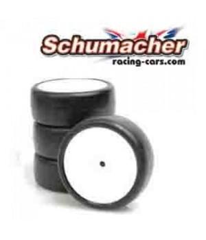 Schumacher gomme Sorex 32 inserto giallo (4pz)