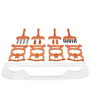Yeah Racing Setup System x modelli 1/10 on-road VER 2.0 ORANGE con borsa
