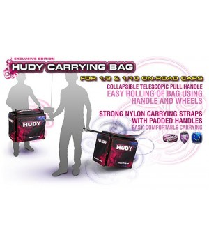 HUDY  HUDY 1/10 & 1/8 CARRYING BAG + TOOL BAG - EXCLUSIVE EDITION