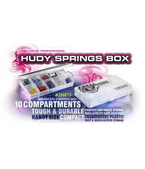 HUDY SPRINGS BOX - 10-COMPARTMENTS