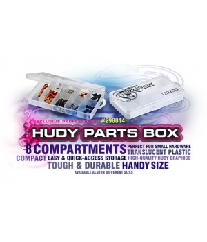 HUDY PARTS BOX - 8-COMPARTMENTS