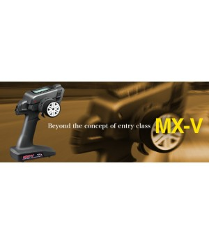 Sanwa RADIO CAR MX-V 2,4G 3CH CON RX WATER PROOF 2015