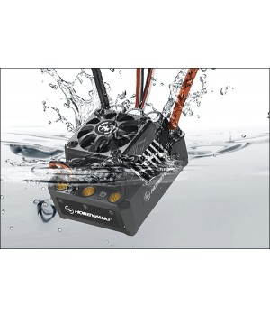 Hobbywing EZRUN MAX6 V3 160A. Regolatore brushless sensorless waterproof - 1/8-1/5 On/Off-Road - Monster - Truggy