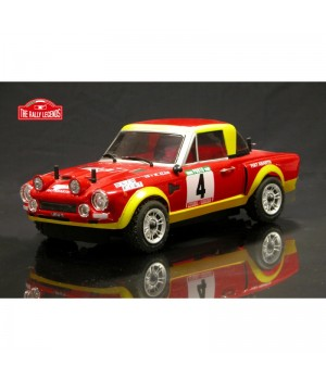 Rally Legends FIAT 124 ABARTH RALLY ARTR (TRASPARENTE)
