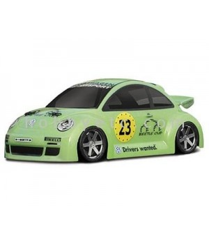 HPI RS4 CARROZZERIA VW BEETLE CUP RACER WB 140MM scala 1/18