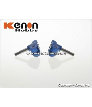 PN Racing Mini-Z MR03 Aluminum Low Down Knuckle (Blue)