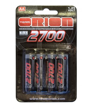ORION BATTERIA AA 2700MAH CAP. PACK (4)
