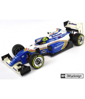 Bitty Design Carrozzeria 1/10 F1 TYPE-6R