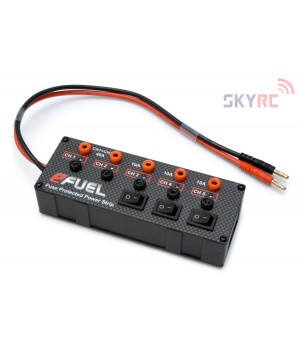 Sky Rc Power Strip Multipresa con protezioni e porta USB per ricarica