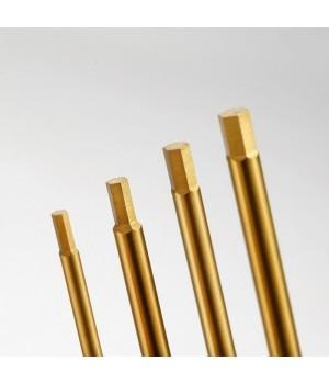 TFL chiave esagonale Set 1,5 / 2,0 / 2,5 / 3,0mm nero