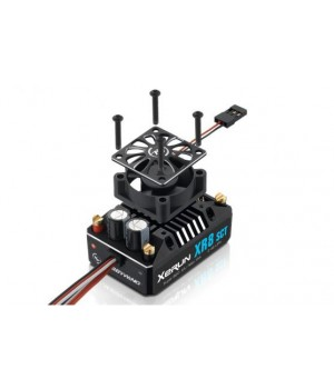 Hobbywing XERUN XR8-SCT 140A. Regolatore brushless 140A sensored / sensorless 1/8 1/10 30113301